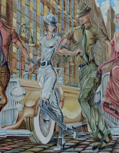 Zelda 67x48 Oil On Canvas